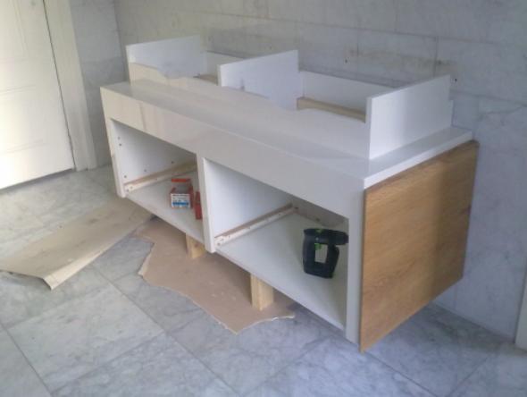 Kasten en dressoirs 2 meubel en timmerwerk eric blom - Badkamer meubel model ...